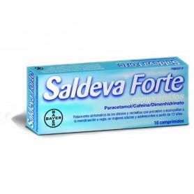SALDEVA FORTE COMPRIMIDOS , 10 COMPRIMIDOS