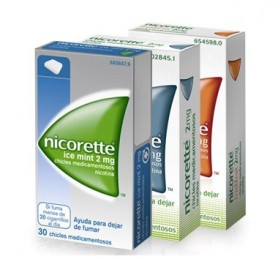 NICORETTE 4 MG CHICLES MEDICAMENTOSOS, 30 CHICLES